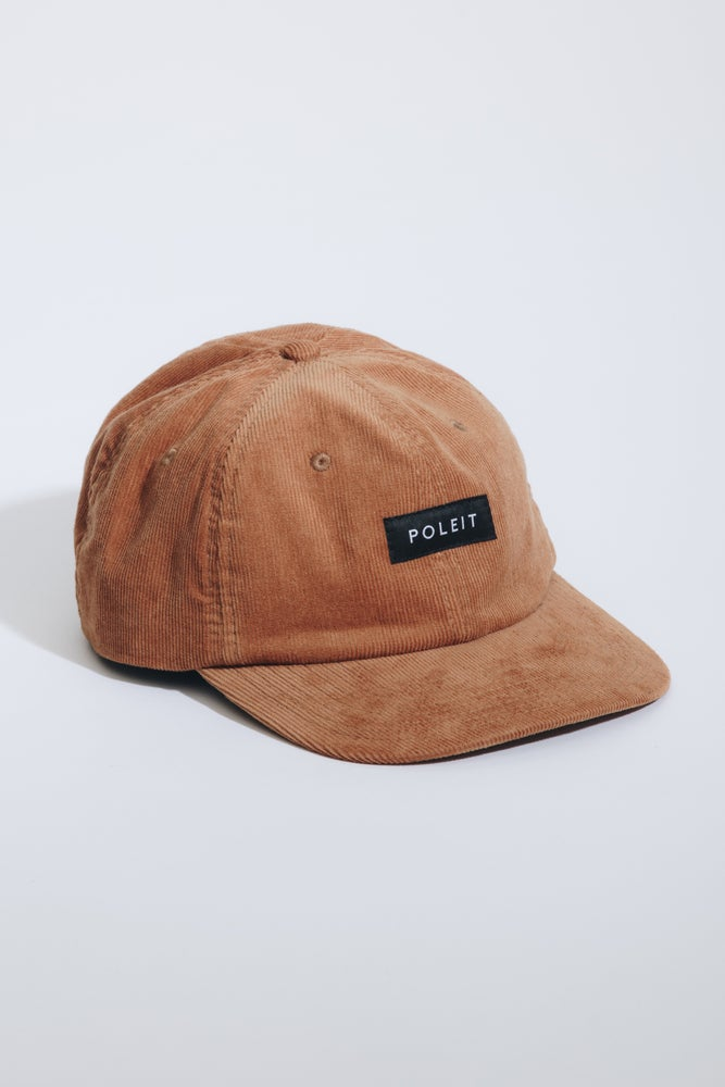 Image of Poleit Cord Cap Brown