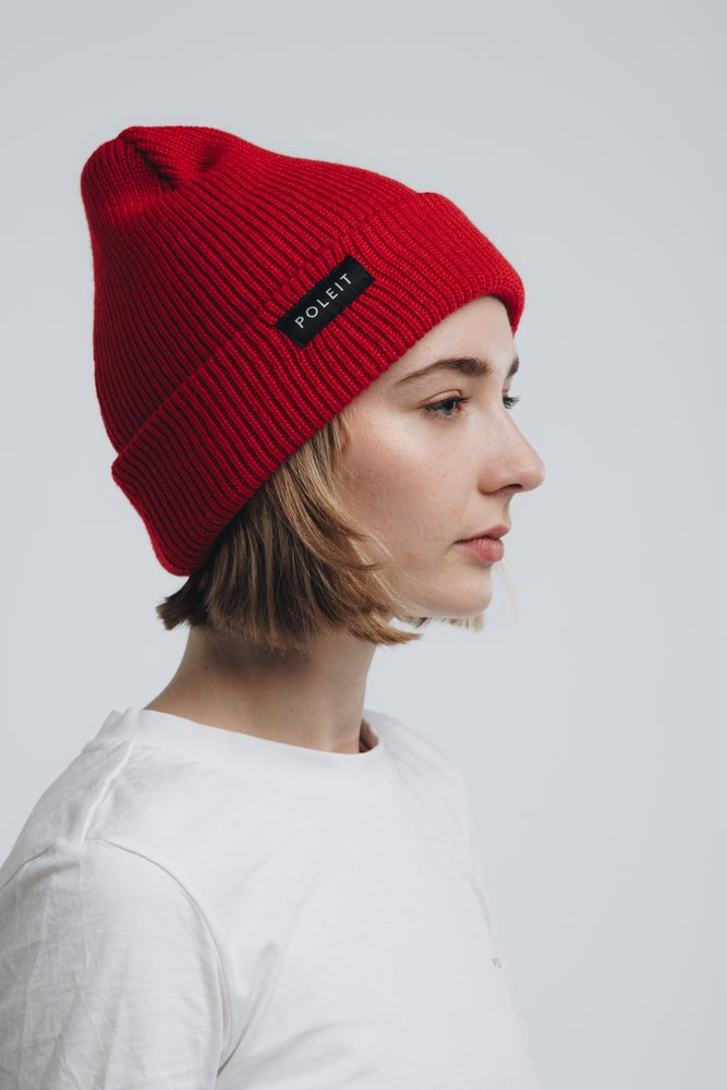 Image of Classic Beanie Red