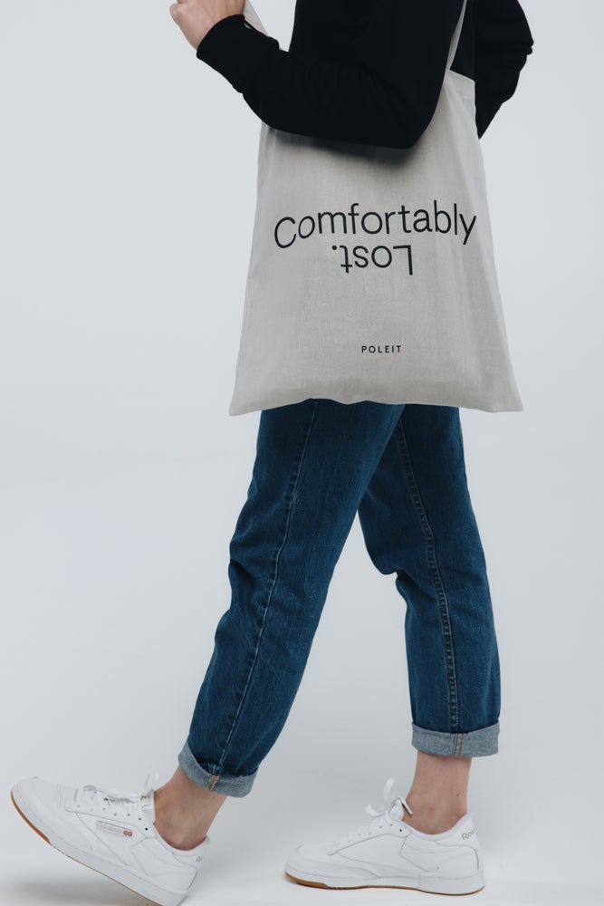 Image of Comfortably Lost Tote Bag