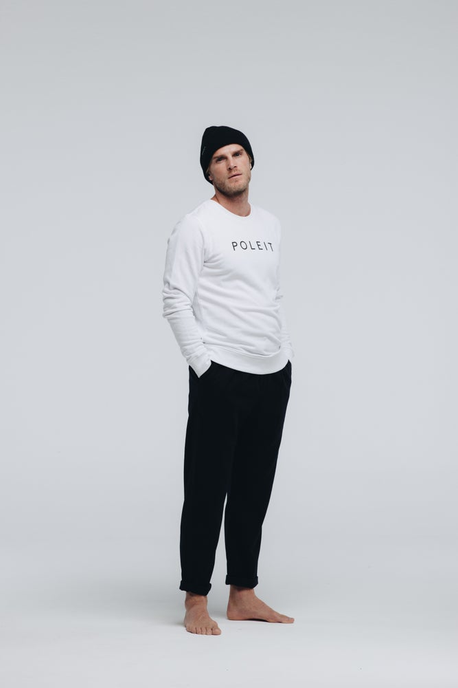 Image of Logo Sweatshirt White