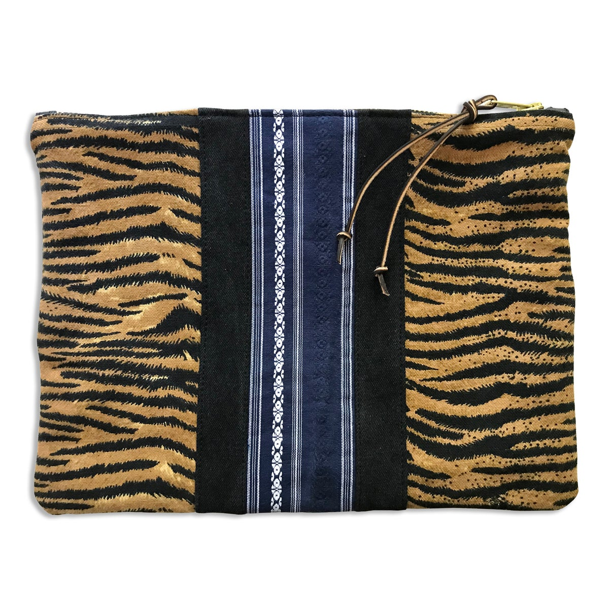 Image of TIGER STRIPES LARGE POUCH