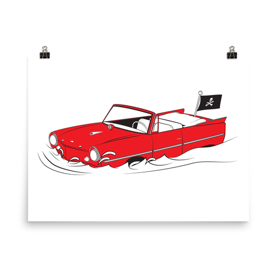 Image of AMPHICAR print or shirt