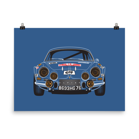 Image of ALPINE-RENAULT A110 1800 print or shirt