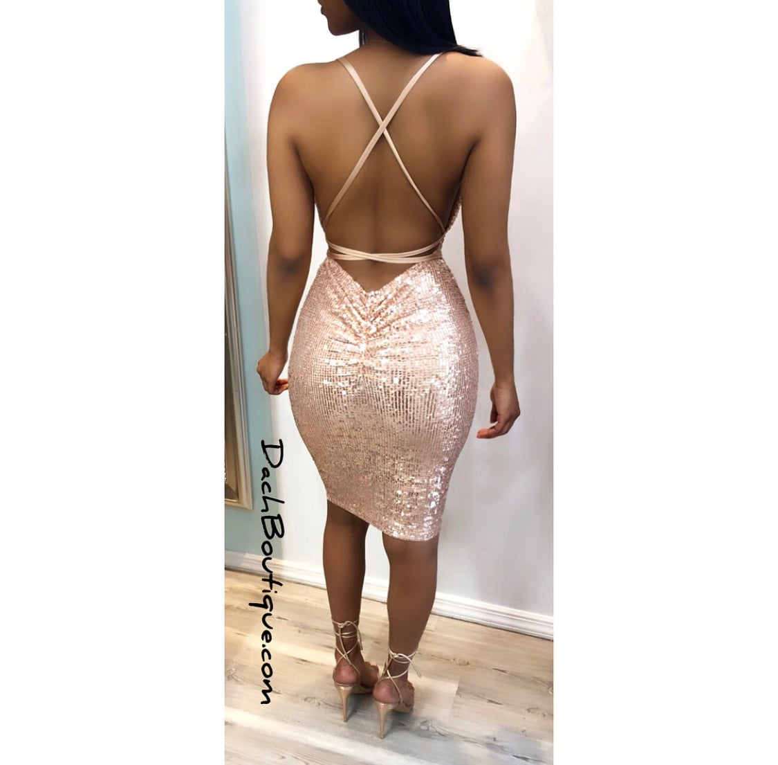 Image of Champagne Dress