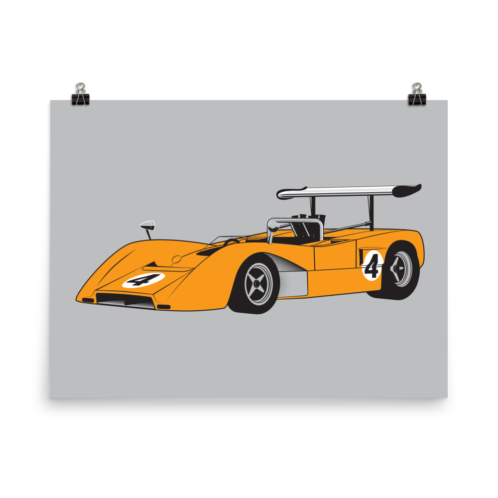 Image of MCLAREN M8B CAN-AM print