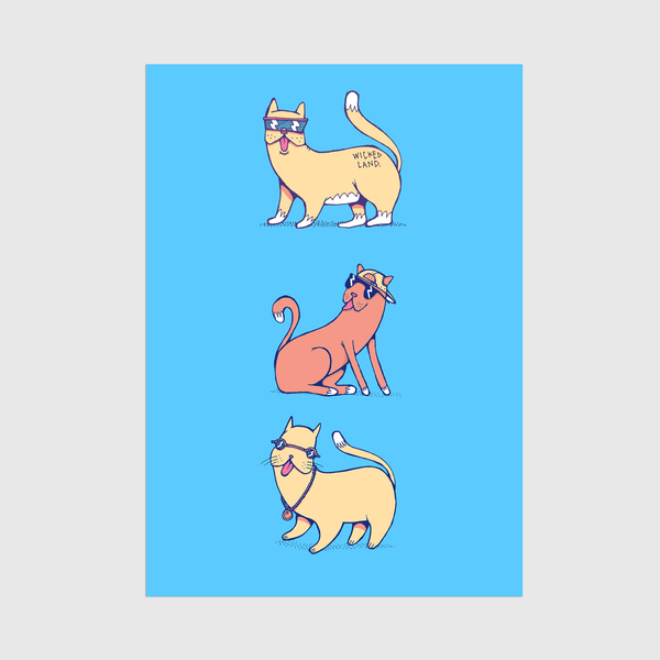 Image of A3 Cool Cats Printer