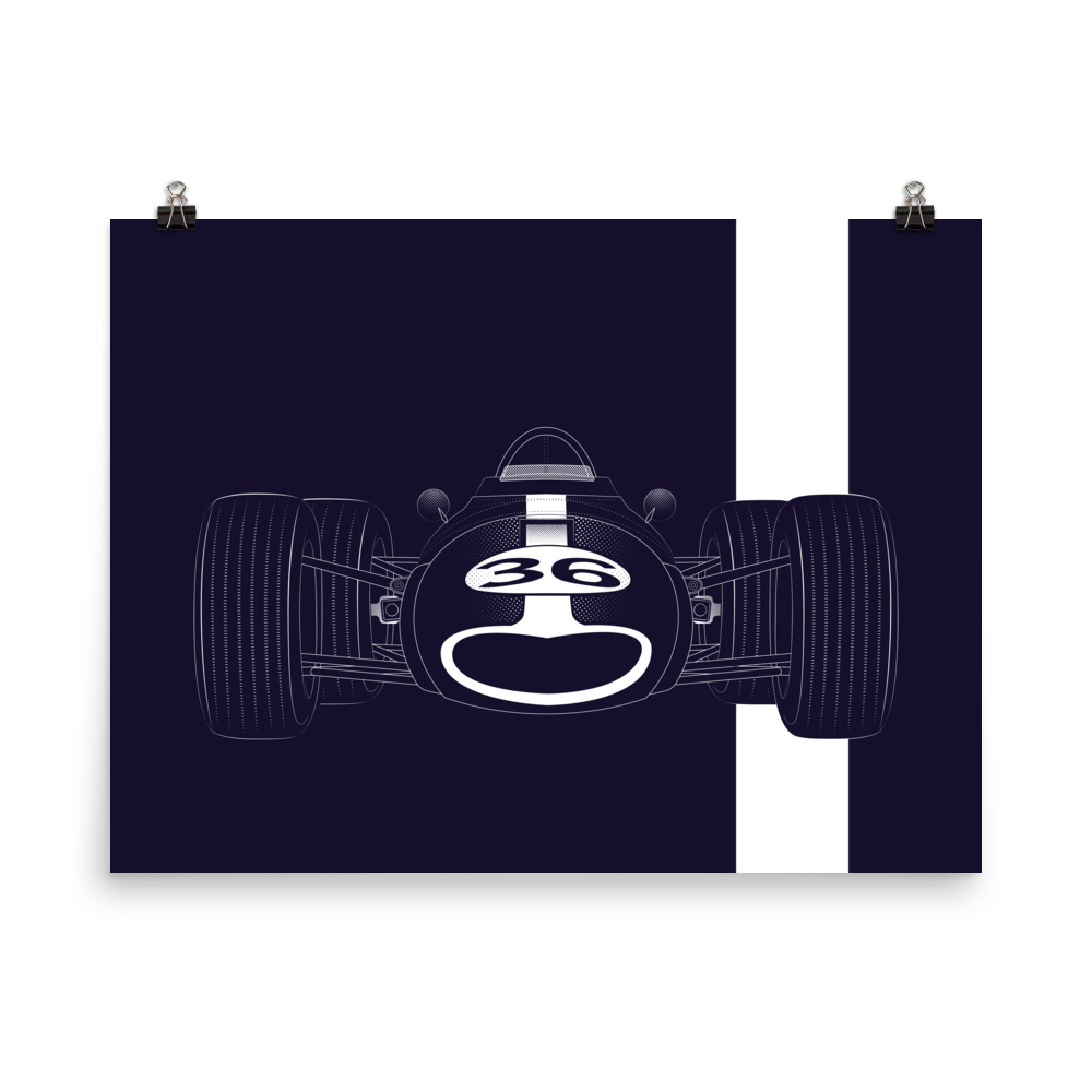 Image of AAR Eagle-Weslake Mk1 print or shirt