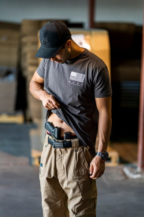 Image of Give Rise 2018 Tactical T-Shirt :: Slate Gray