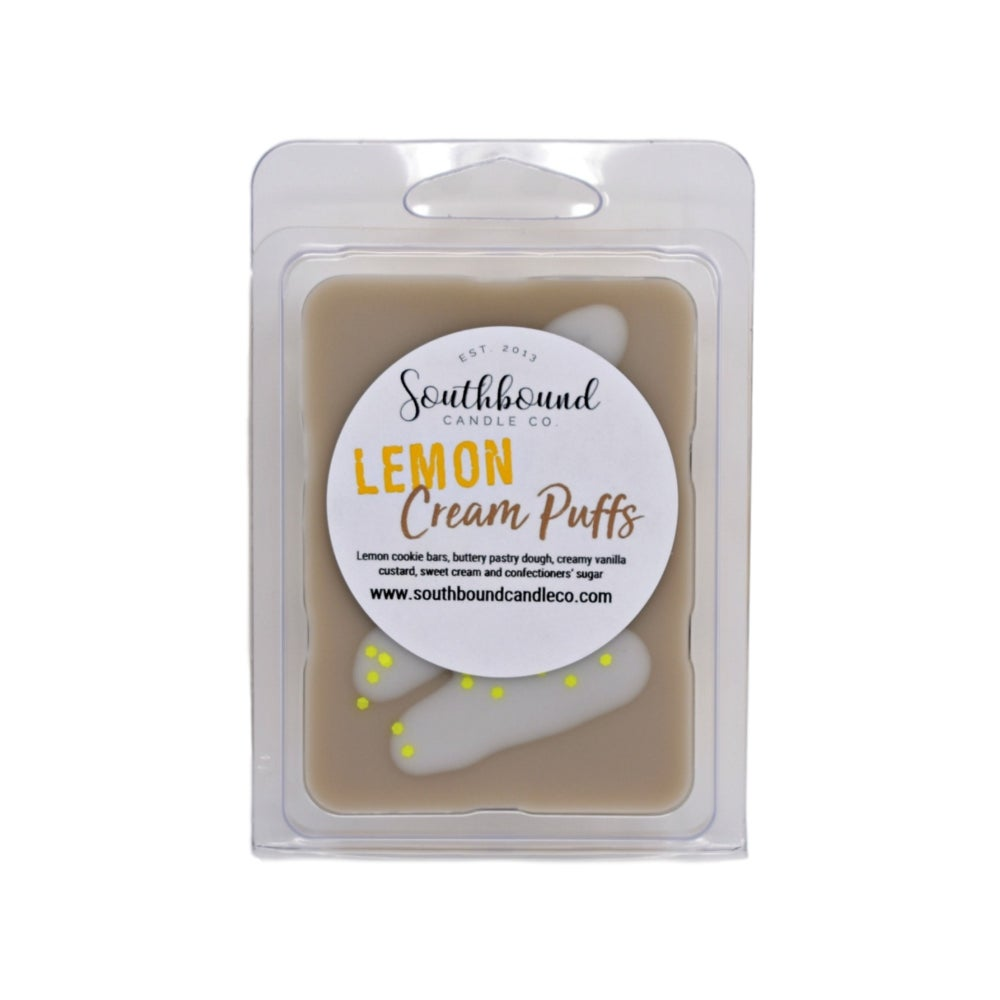 Image of Lemon Cream Puffs Wax Melts