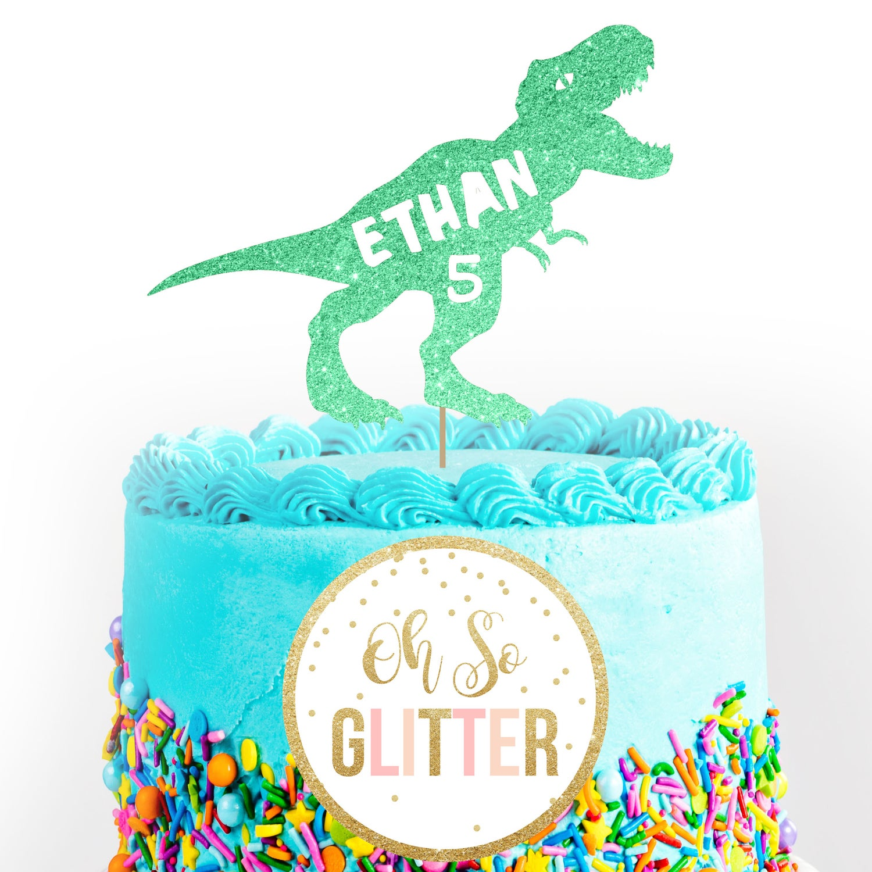 Image of Dinosaur Cake Topper