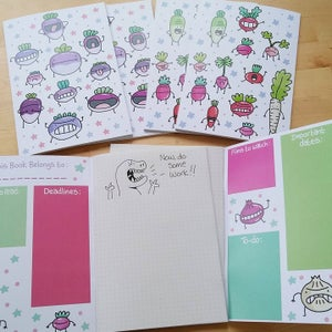 Image of Cute Roots Notebook
