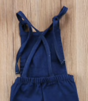 Image of Denim Hipster Bibs