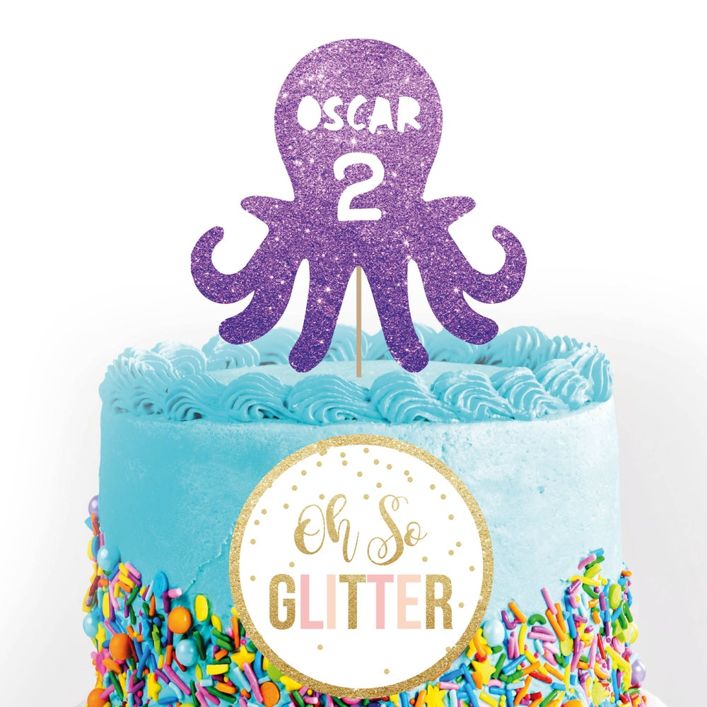 Image of Octopus Cake Topper