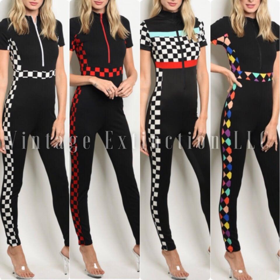 Image of Finish Line Bodysuit 🏁