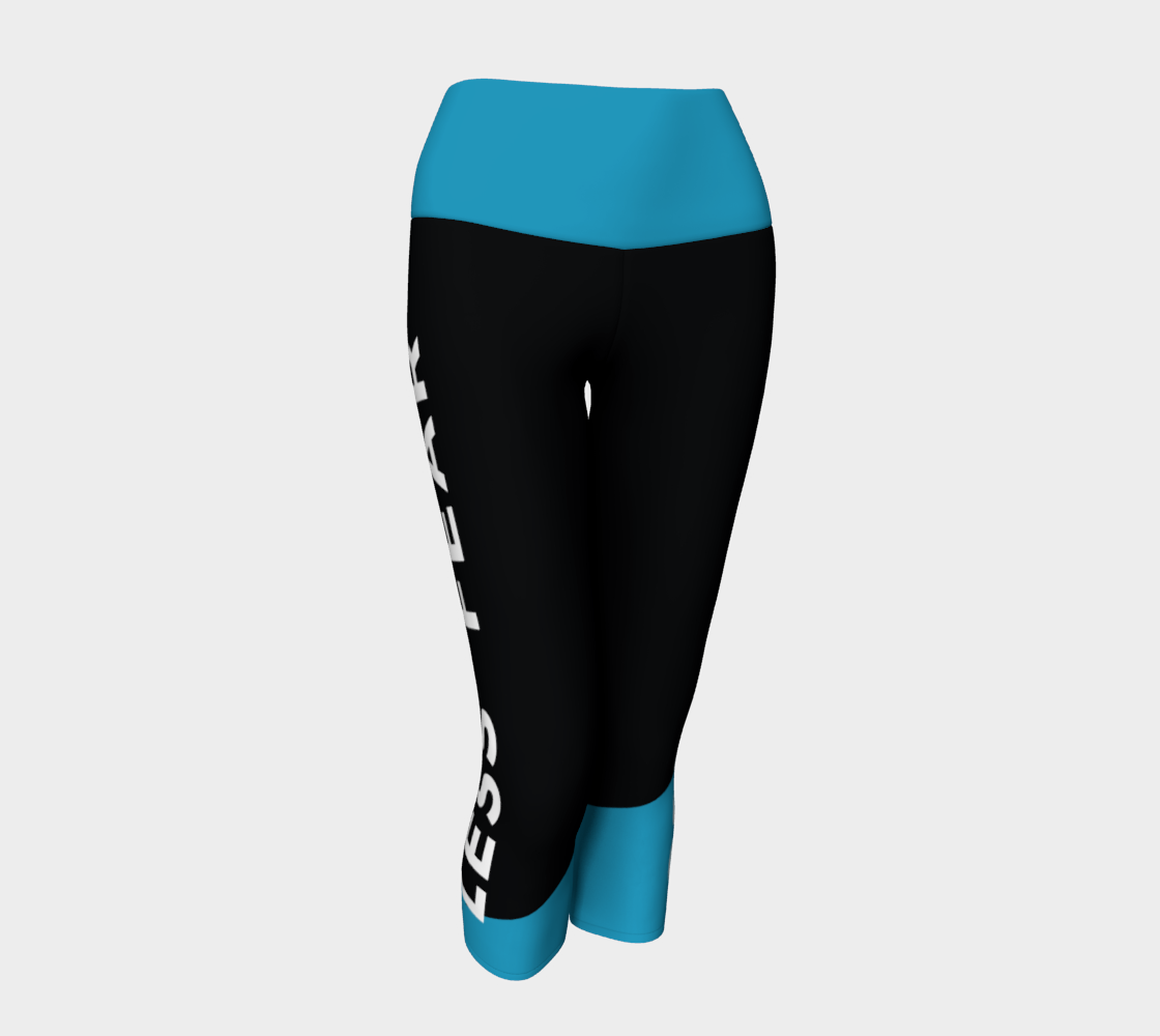 Image of FEAR LESS/ LESS FEAR CAPRI Leggings