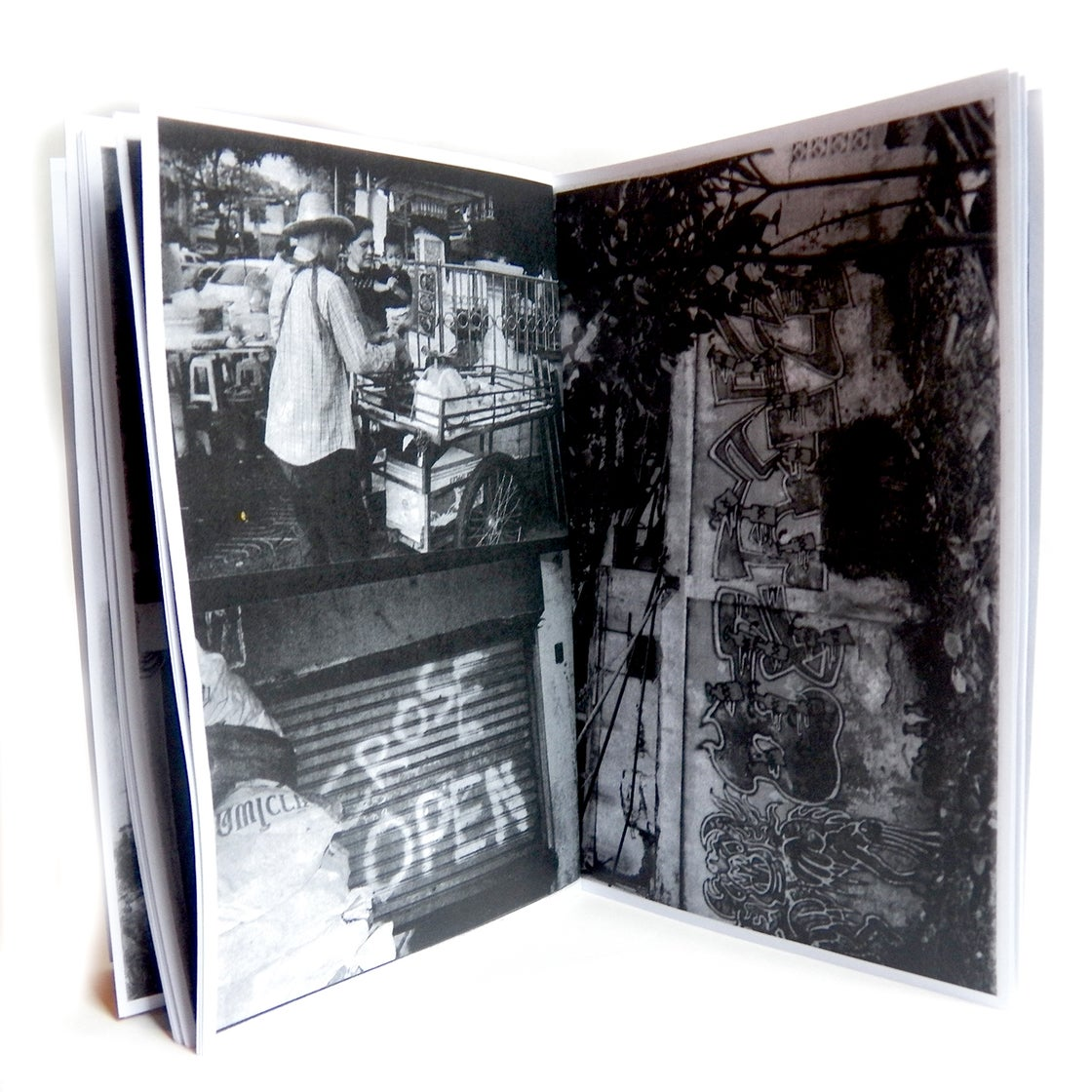 "Image of ""BANGKOK GRAFFITI"" - BURNT BRA PRESS"