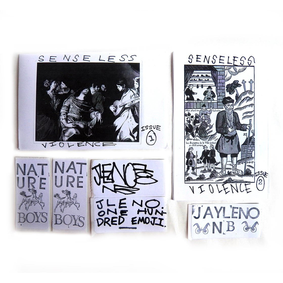 Image of SENSELESS VIOLENCE - COMBO PACK - MOSES MASCUCH