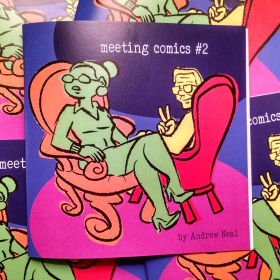 Image of Meeting Comics #2 Preorder