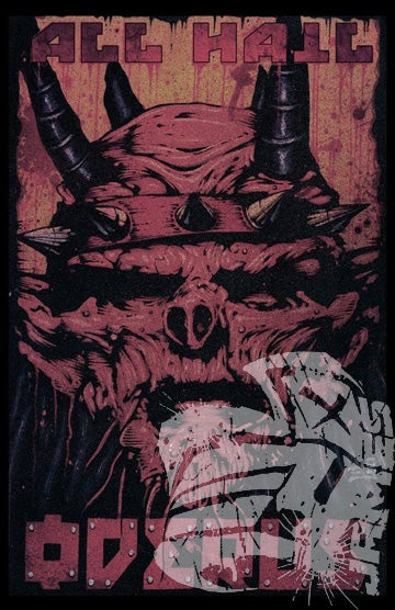 "Image of ""ALL HAIL ODERUS"" Poster (LIMITED 1 of 20 Autographed)"