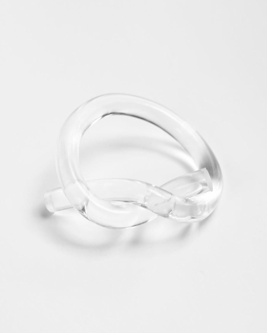 Image of Acrylic Knot Bracelet