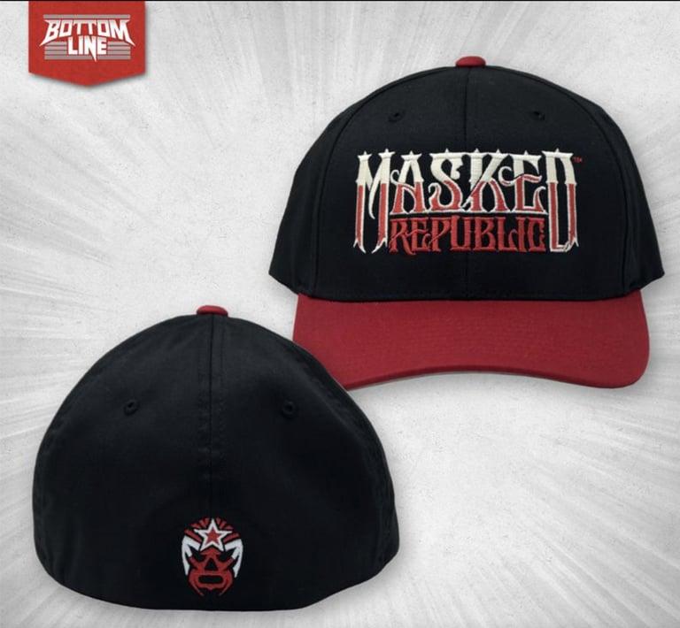 Image of MR Name Logo FlexFit Hat (OG Colors)