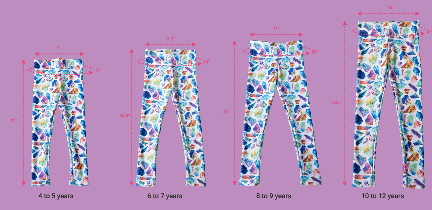 Image of FEAR LESS/LESS FEAR YOUTH Legging