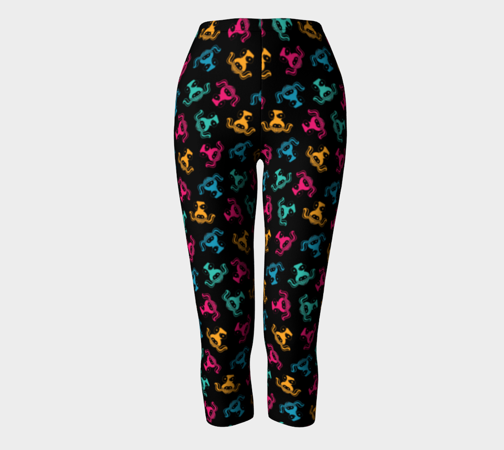 Image of KICKBOX NINJA CAPRI Leggings