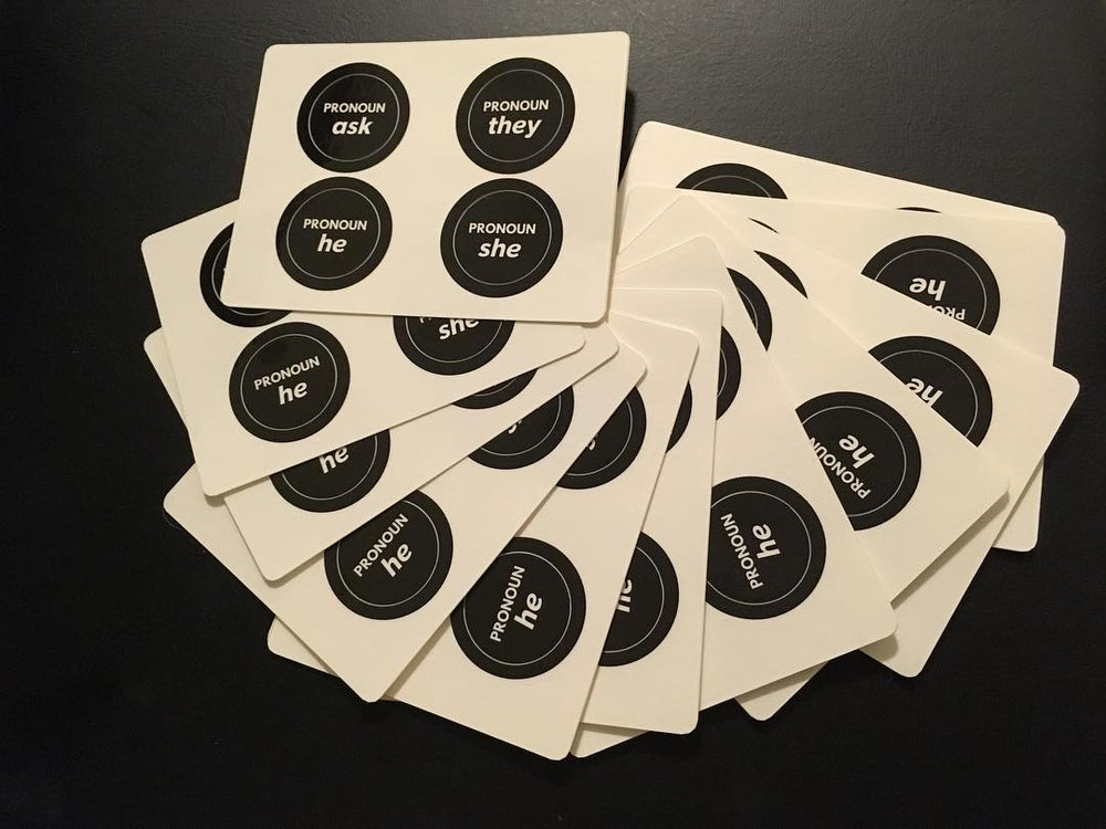 Image of Pronoun Stickers