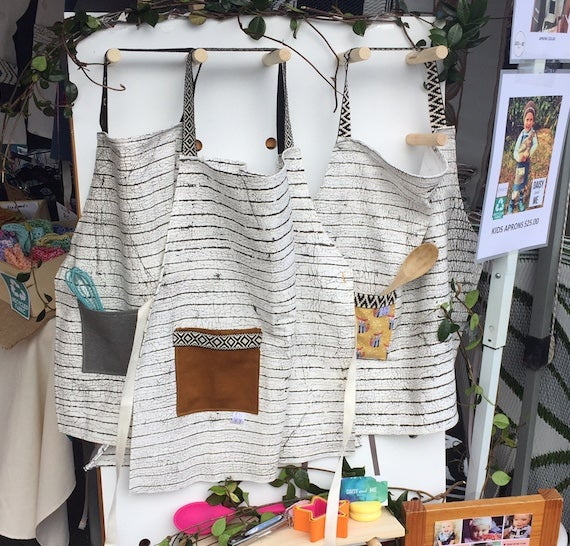 Image of Organic Cotton Kids Apron