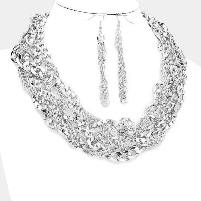 Image of Gorgeously Tangled Necklace