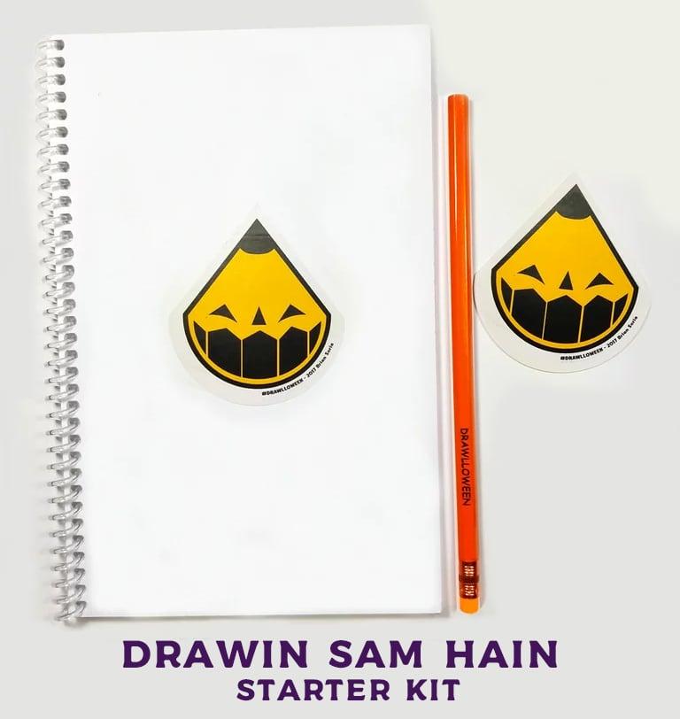 Image of Drawin' Sam Hain Starter Kit