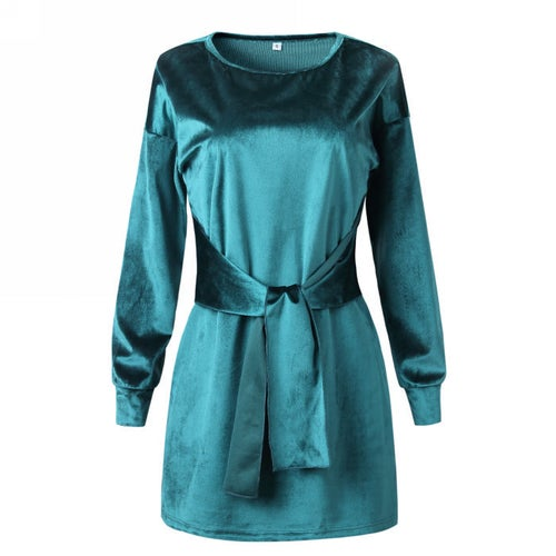 Image of Ollie Dress Green
