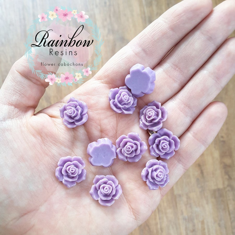 Image of Lilac roses x 10