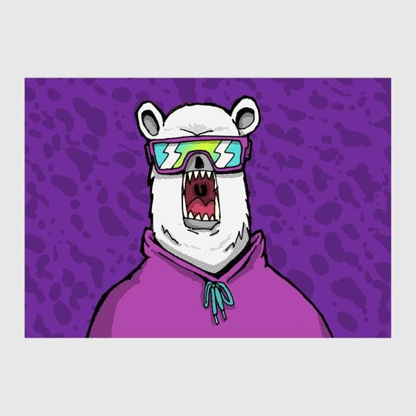Image of Polar Bear A6 Postcard