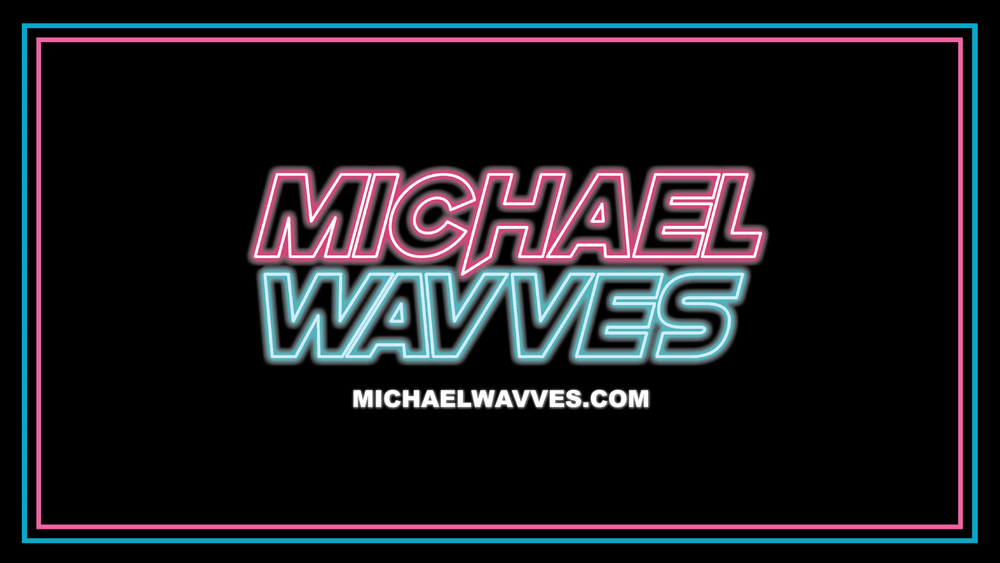 Image of Michael Wavves Sticker