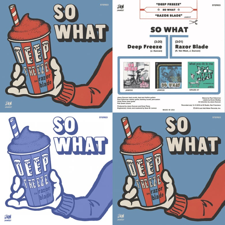 "Image of So What ""Deep Freeze"" TRIPLE PLAY and MEGA bundles"