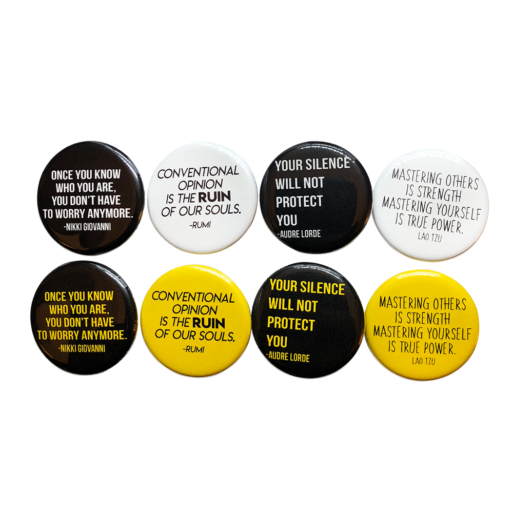 Image of Bold Statements Button 4-Pack