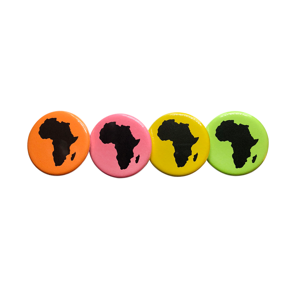Image of Africa Button 4-Pack