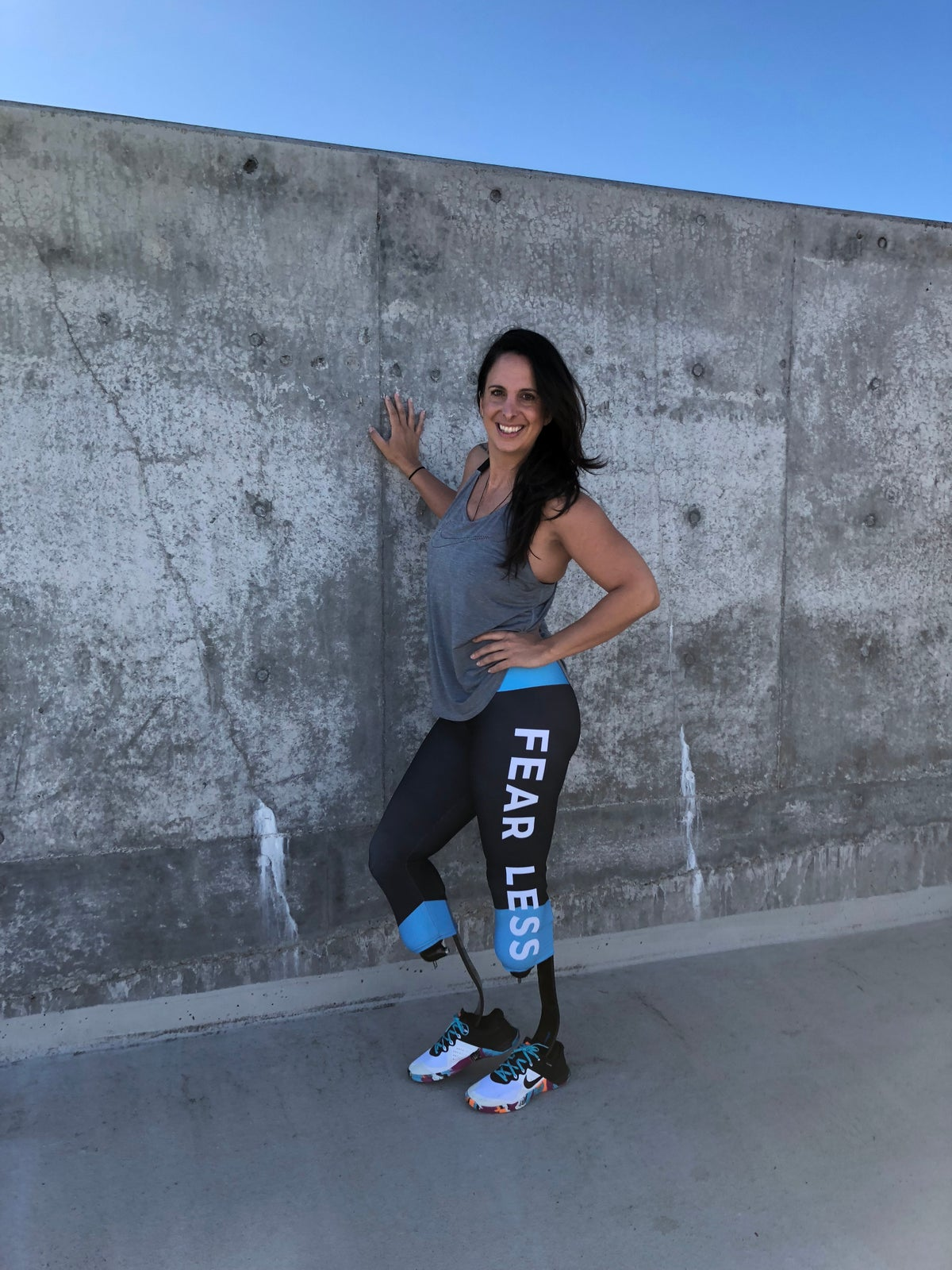 FEAR LESS/ LESS FEAR CAPRI Leggings