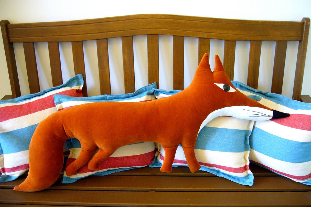 Image of Large Fox Cushion