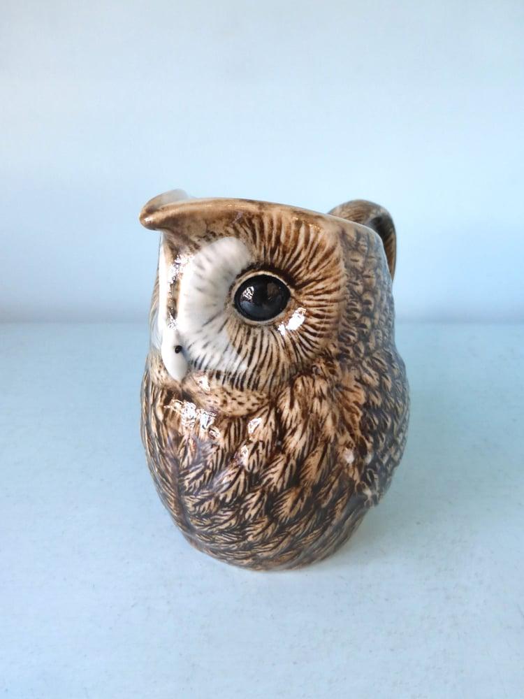 Image of Tawny Owl Milk Jug