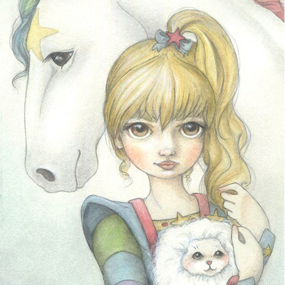 Image of Rainbow Brite 5x7 print
