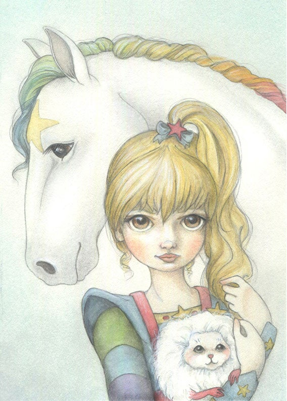Image of Rainbow Brite 5x7 print