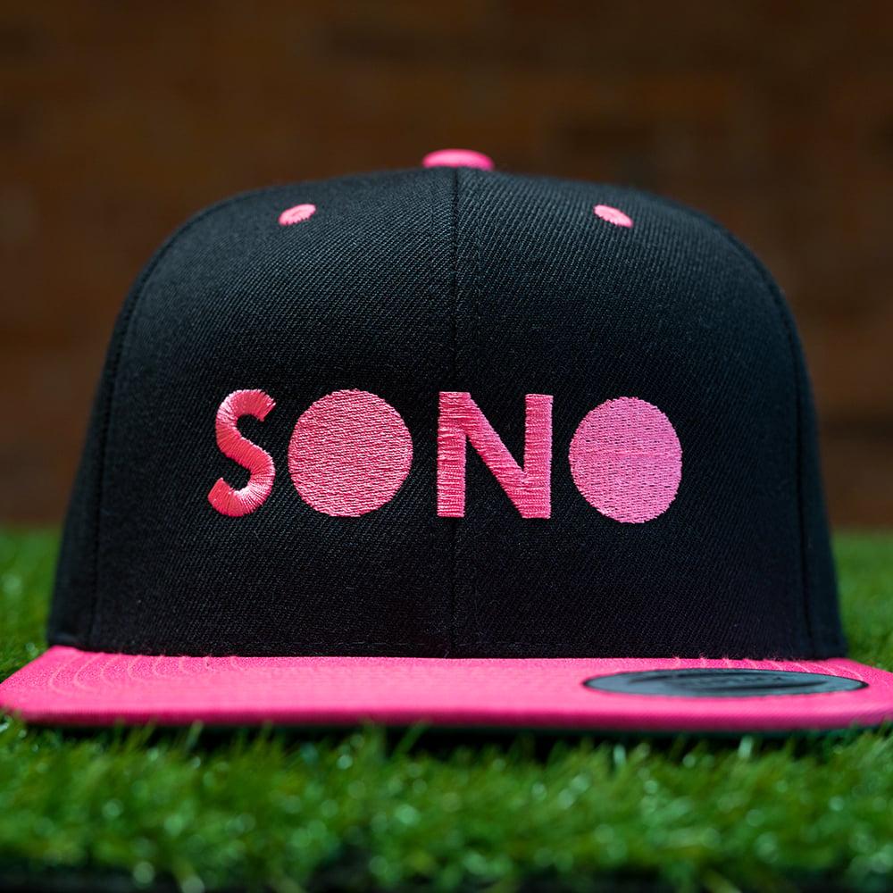 Image of SONO Neon Pink SnapBack