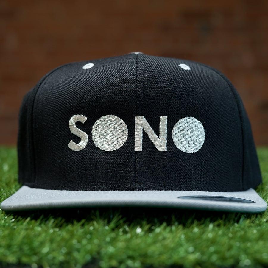 Image of SONO Silver Metallic SnapBack