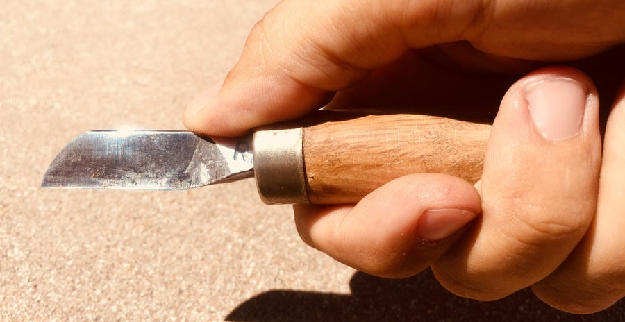 Image of Hand-Forged Bassoon Reed Knife
