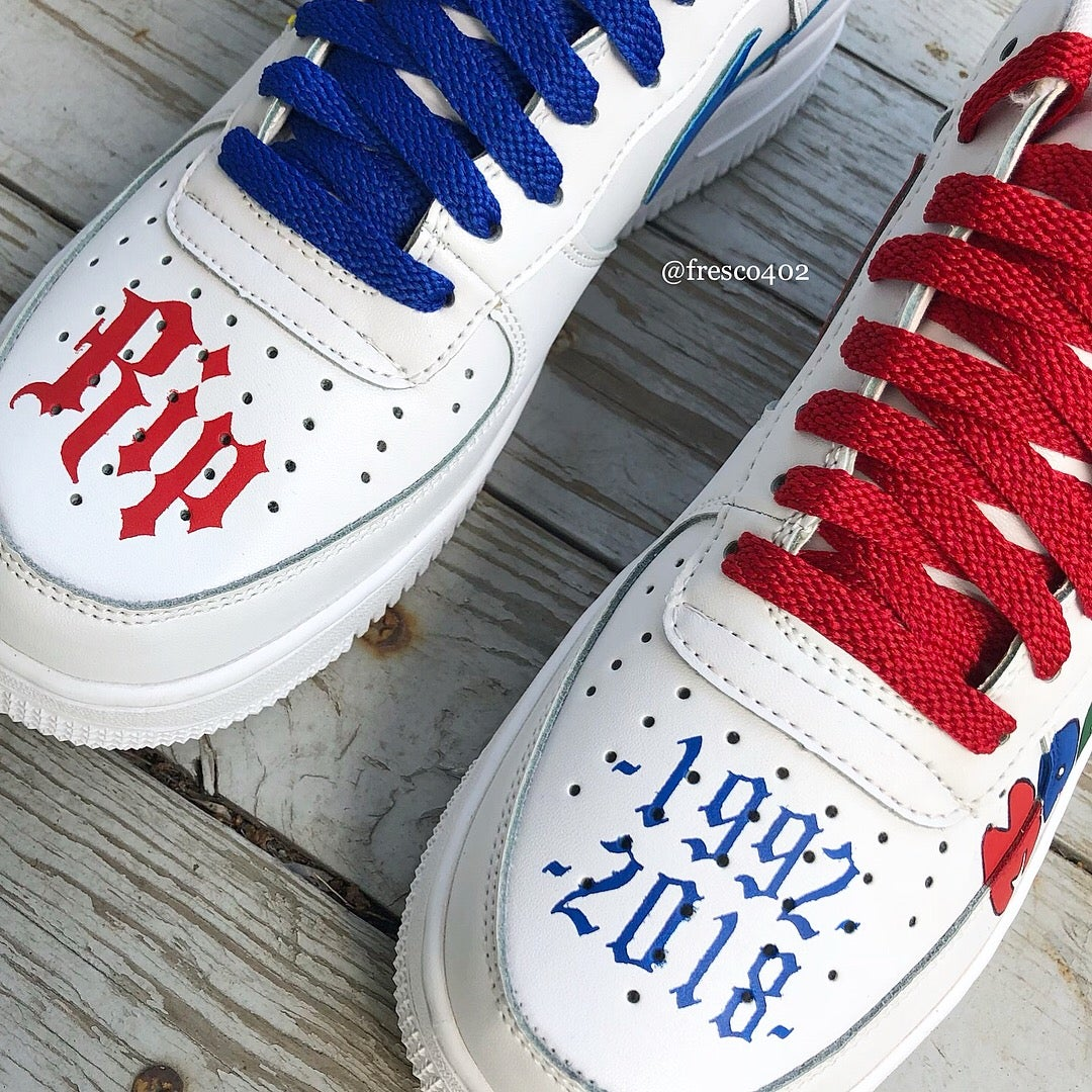 Custom Mac Miller Nike Air Forces