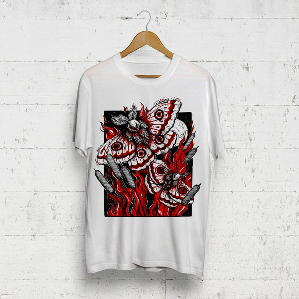 Image of Like A Moth To A Flame T-Shirt