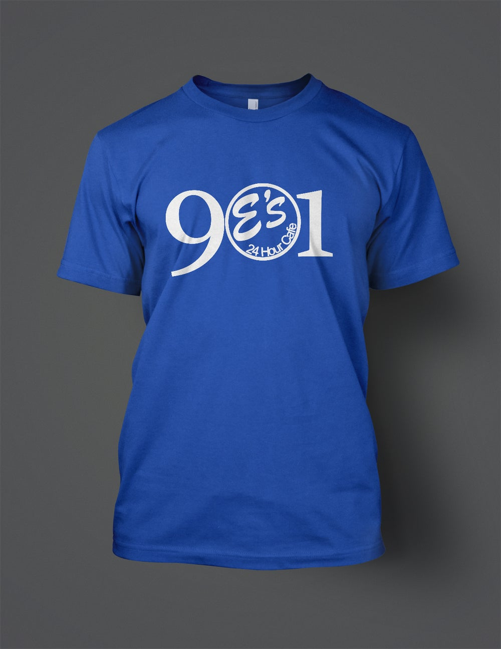 Image of Royal Blue 901 E's Tee