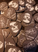 "Image of J.V. Bastard ""Skull-Face era"" Guitar pick"